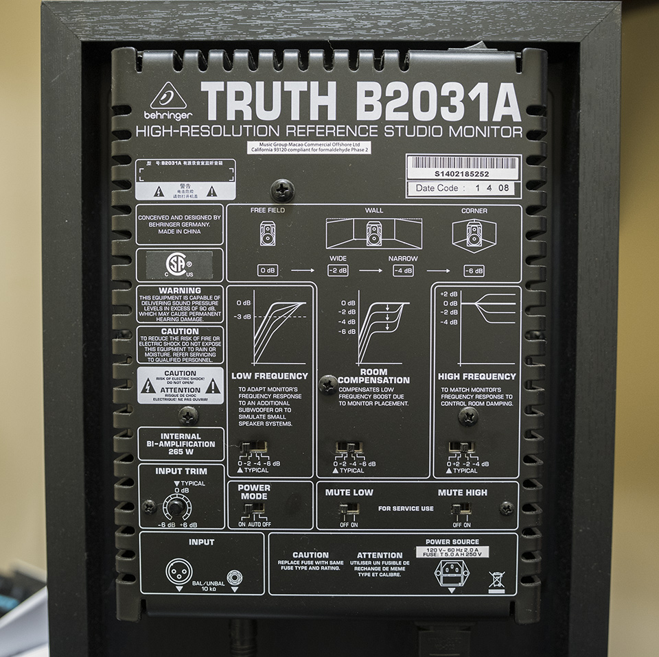 Behringer Truth B2031A Review