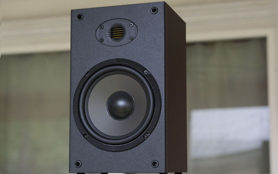 Dayton Audio B652-AIR 6-1//2 2-Way Bookshelf Speaker with AMT Tweeter Pair
