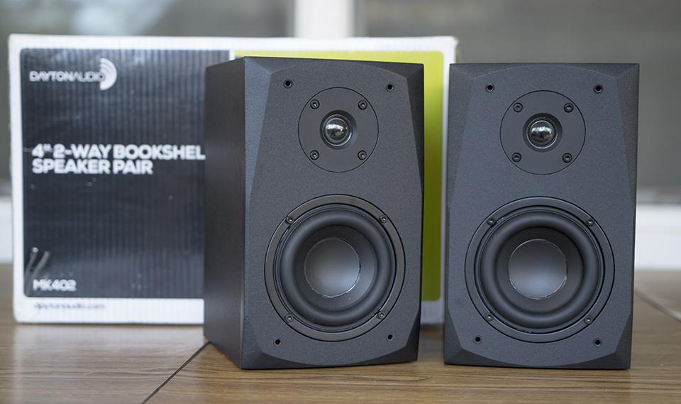 Dayton MK402 Review New Passive Bookshelf Speaker