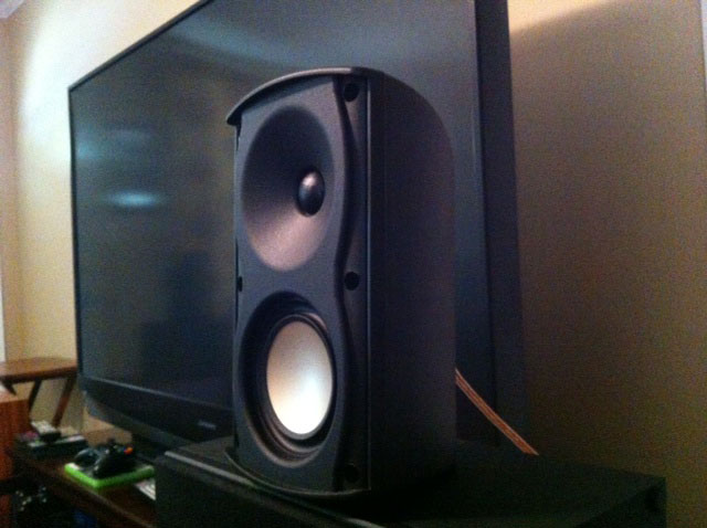 These Can Work In Large Spaces And As Long Your Ears Handle The Highs Are Great Little Speakers For A Living Room