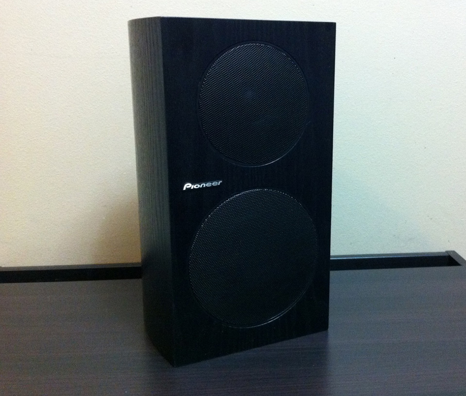 Pioneer SP BS21 LR 80 Watts RMS 2 Way Speakers