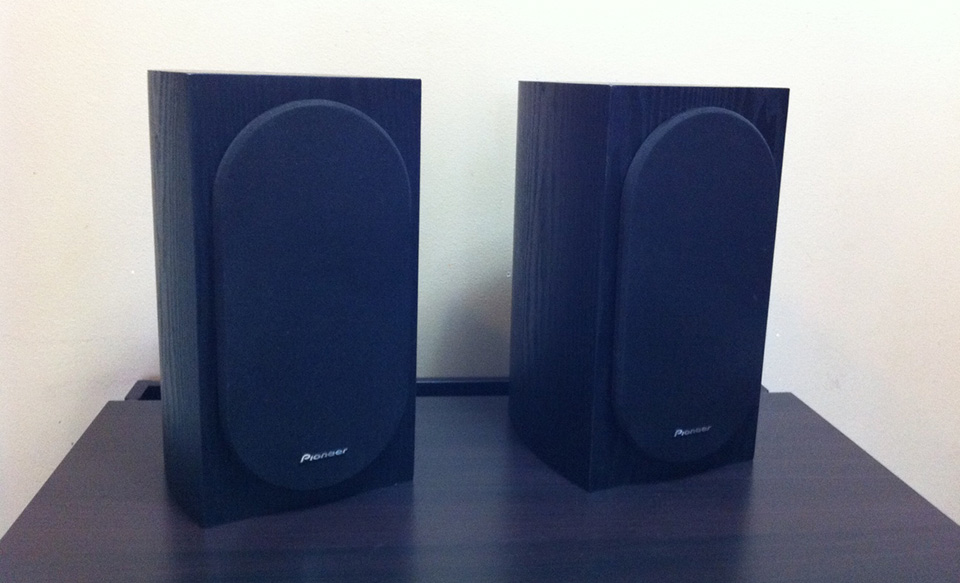 Pioneer SP BS22 LR Bookshelf Loudspeakers